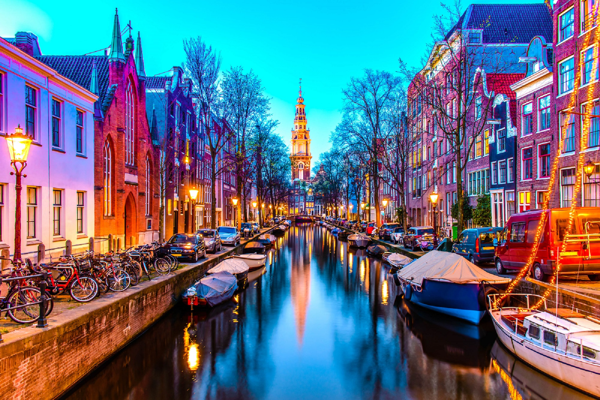Королевский парад в Амстердаме