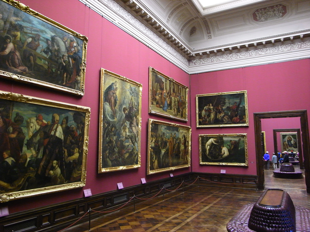Дрезденская картинная галерея вновь открыла свои двери!