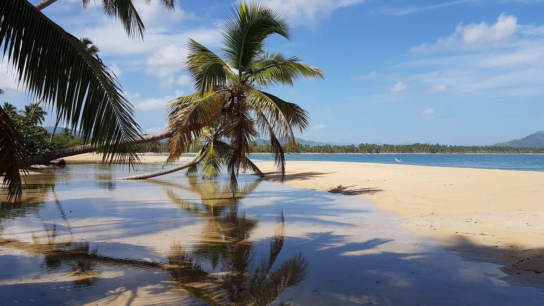 Пляжи Доминиканы. Карибское побережье.