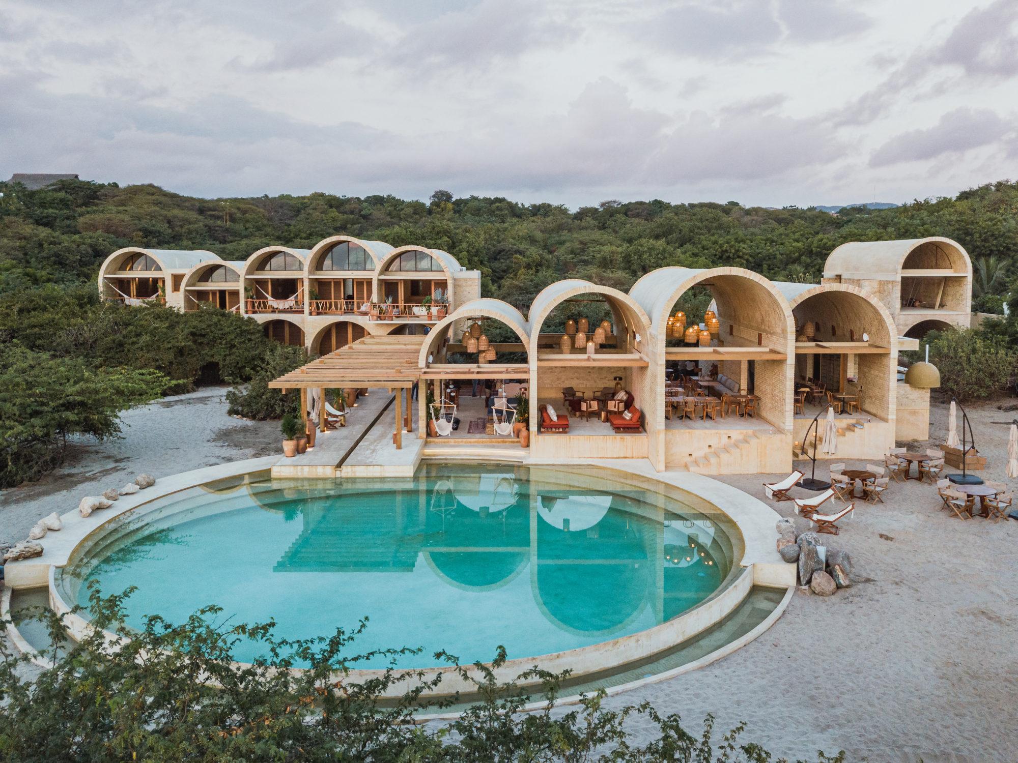 Для любителей необычного!<br><span>«Casona Sforza» – новый арочный отель  в Мексике!</span>