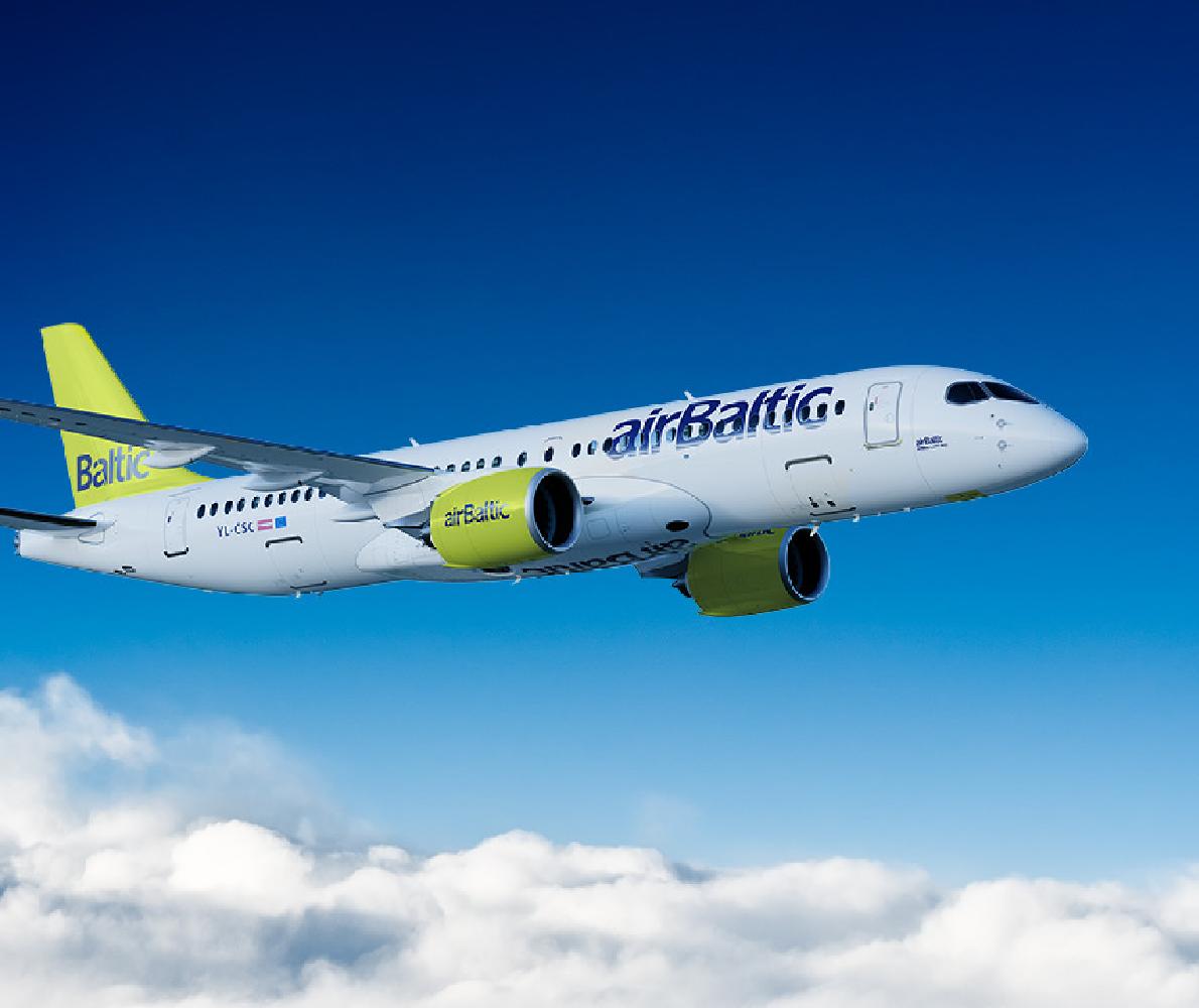 Акція від airBaltic.<br>Тільки сьогодні!