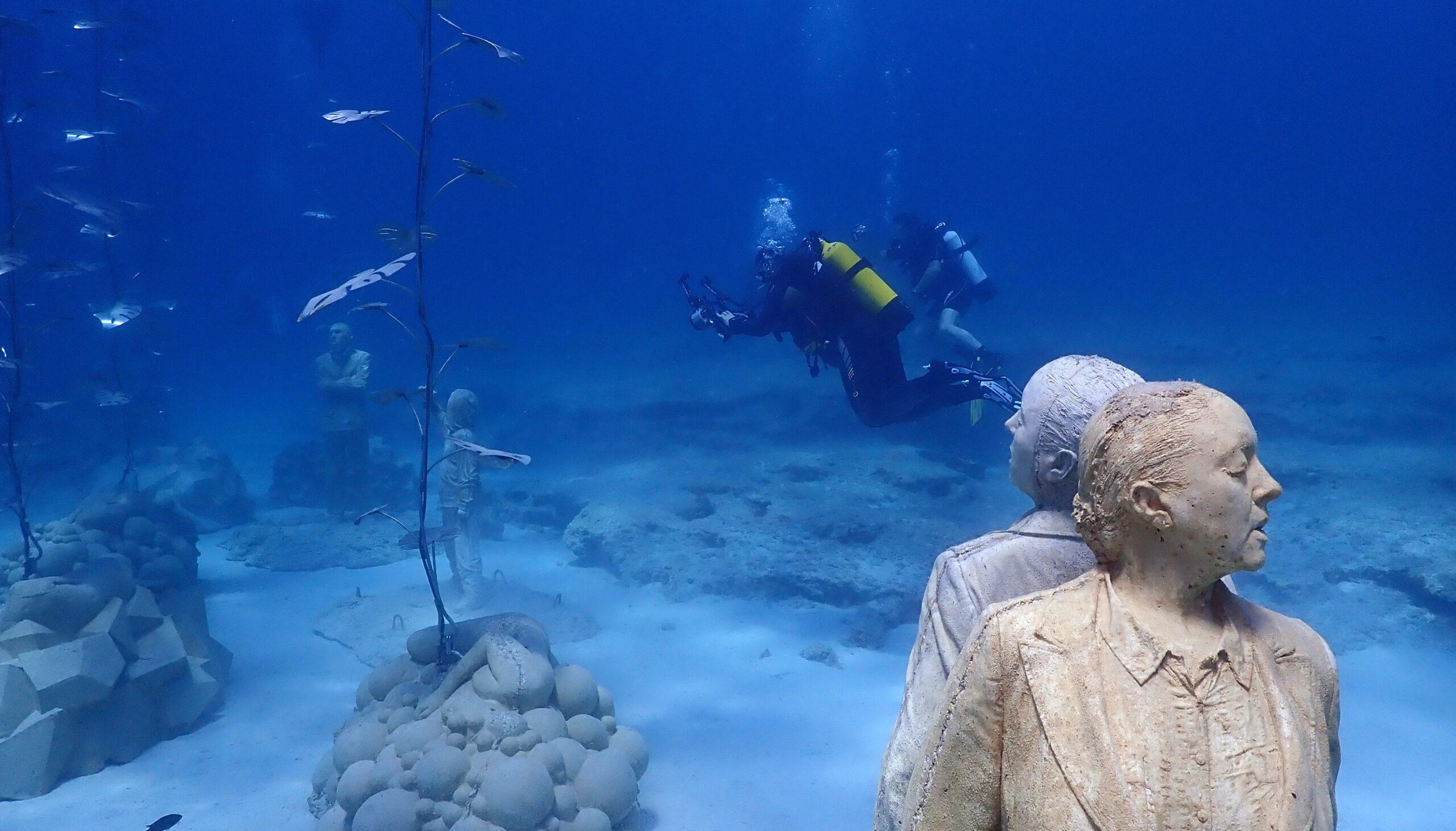 MUSAN. Новый парк подводных скульптур на Кипре