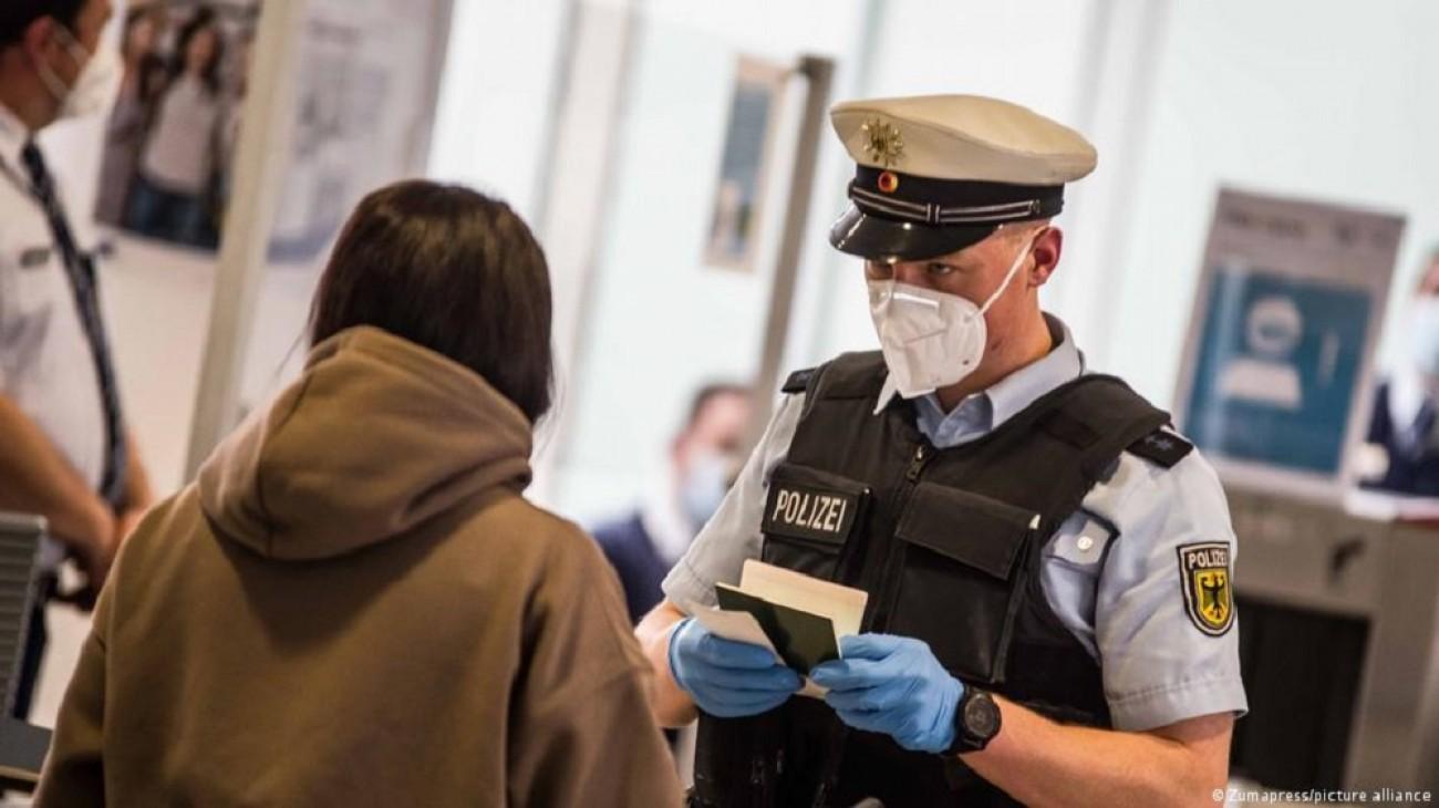 Германия. Новые правила въезда для пассажиров из Украины
